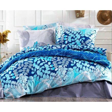 Kék levelek, 100% pamut ágynemű huzat