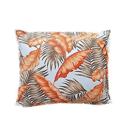 Narancs leveles - egyszínű barna téglalap alakú alvó párna.