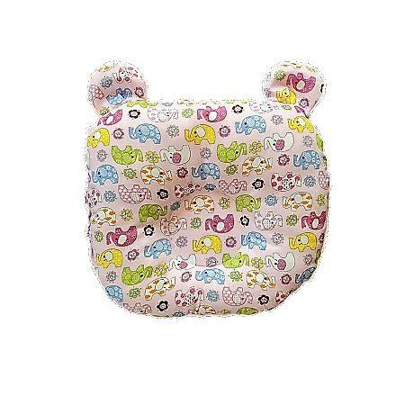 Rózsaszín kis elefántos-rózsaszín színű,kutacs baba párna