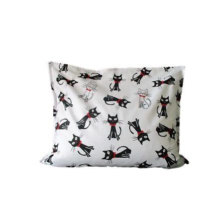 Szerencsét hozó fekete cicusok téglalap alakú alvó párna