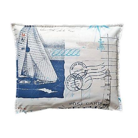 Hajós téglalap alakú alvó párna.