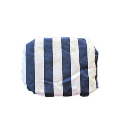 Elegáns kék csíkos parajdi sós melegíthető párna